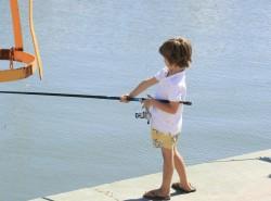 pesca infantil