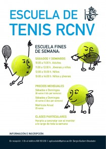 ESCUELA DE TENIS Y PDEL