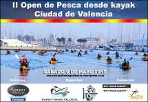 II Open de pesca desde kayak