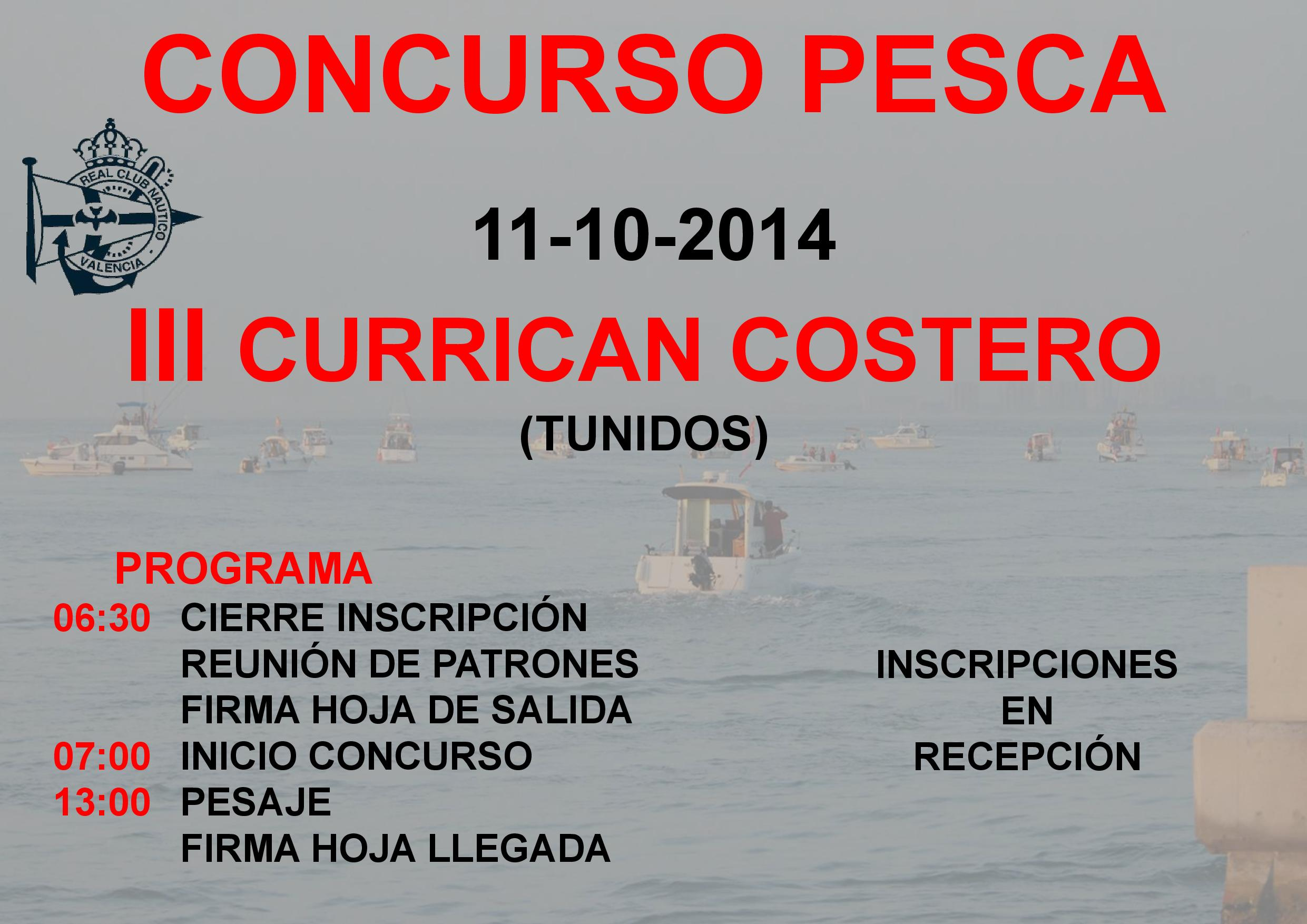 III Currican Costero Valencia