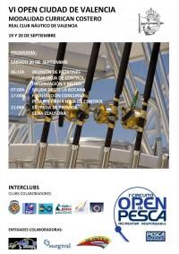 Cartel Open Ciudad de Valencia