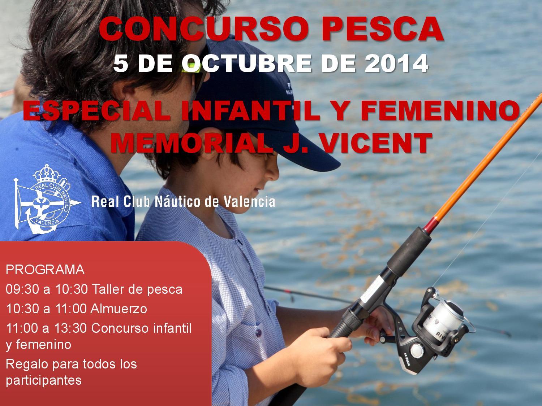 Concurso Pesca Femenino e Infantil
