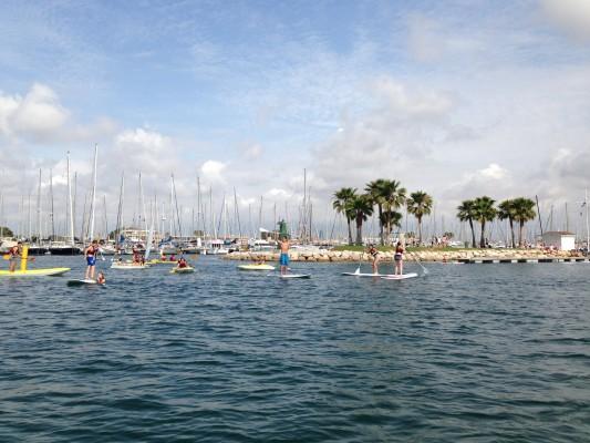 paddle surf sailing summer 2014 rcnv