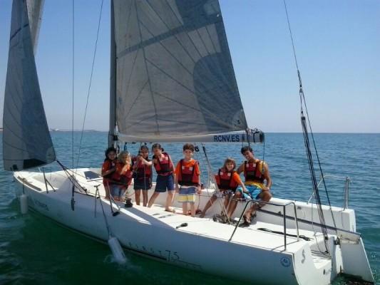 sailing summer 2014 rcnv first real club náutico valencia
