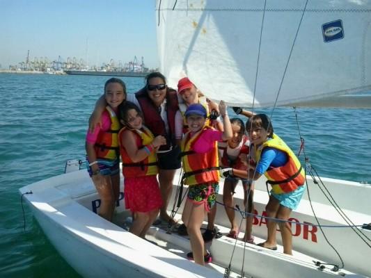 sailing summer 2014 rcnv gamba real club náutico valencia