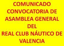 CONVOCATORIA ASAMBLEA GENERAL