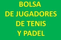 BOLSA DE JUGADORES DE TENIS Y PADEL