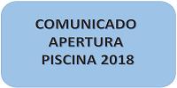 APERTURA PISCINA 2018