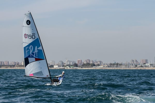 Sea-trials for the selection of Equipment for the Paris 2024 Olympic Sailing Competition Men's and Women's One Person Dinghy Events.