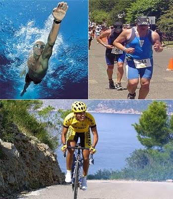En que consiste la prueba del triatlon